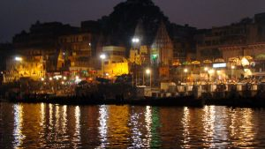 varanasi-ganges-at-night