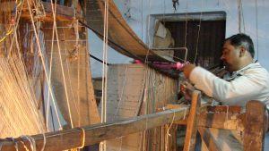 weaving-silk
